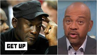 Michael Jordan has told me a million times he's not satisfied with being 6-0 - Mike Wilbon | Get Up