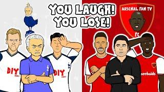 You Laugh, You Lose - The North London Derby Special!   442oons x Onefootball