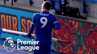 Alisson howler gifts Jamie Vardy, Leicester City 2-1 lead v. Liverpool | Premier League | NBC Sports