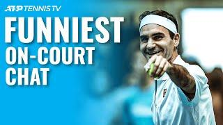 Funny & Weird On-Court Tennis Chat Moments