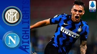 Inter 2-0 Napoli | Inter move back into second place on the table | Serie A TIM