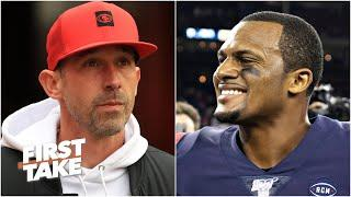 Deshaun Watson would make the 49ers scary - Damien Woody on possible landing spots | First Take