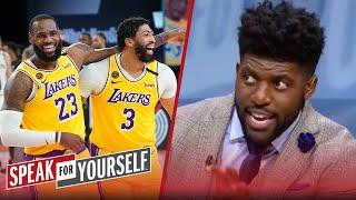 It's too early for LeBron James to be confident in Anthony Davis — Acho | NBA | SPEAK FOR YOURSELF
