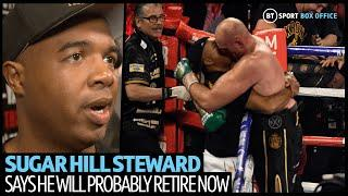 Tyson Fury's trainer Sugar Hill Steward says he will retire after Deontay Wilder win