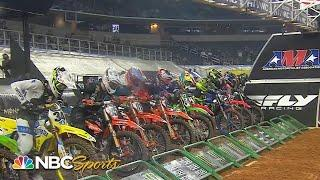 Supercross Round 11 at Arlington | EXTENDED HIGHLIGHTS | 3/16/21 | Motorsports on NBC