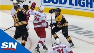 Hurricanes Score Shorthanded After Losing Challenge On Controversial Bruins' Goal