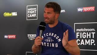 'ITS WEEKEND AT HEARNIES' - EDDIE HEARN OPENS FIGHTCAMP WEEK 1 PRESS CONFERENCE / GILL v BELLOTTI