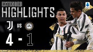 Juventus 4-1 Udinese | Clinical Finishing from CR7, Dybala & Chiesa! | EXTENDED Highlights