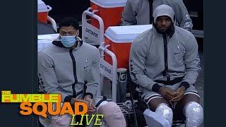 Lebron James, Anthony Davis Get Roasted For Being Iced After Playing Just Minutes In Pre-Season Game