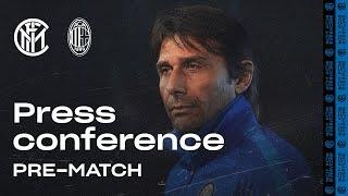INTER vs AC MILAN | Antonio Conte Pre-Match Press Conference LIVE  [SUB ENG] #DerbyMilano