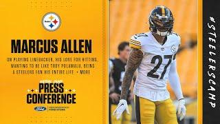 Steelers Virtual Camp Press Conference (Sept. 2): Marcus Allen | 2020 Training Camp