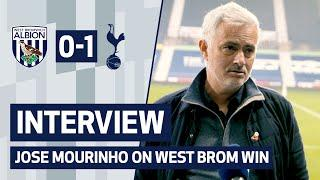 INTERVIEW | JOSE MOURINHO ON WEST BROM WIN | West Brom 0-1 Spurs