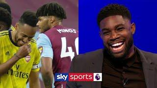 Micah Richards hilariously explains how Tyrone Mings distracted Aubameyang for Villa's goal