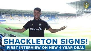 "SHACKLETON SIGNS NEW CONTRACT | ""It's amazing to have another four years at this club"""