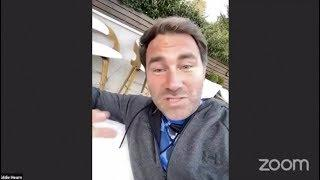 PROMOTERS UNITE! - MAURICO SULAIMAN HOSTS A GROUP VIDEO CALL: EDDIE HEARN, LOU DiBELLA, TOM LOEFFLER