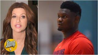 The Jump reacts to Zion Williamson leaving the NBA bubble