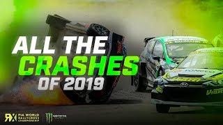 All the Crashes of 2019  | FIA World Rallycross