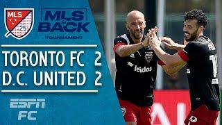 Toronto FC 2-2 D.C. United: Higuain and Brillant inspire improbable comeback | MLS Highlights