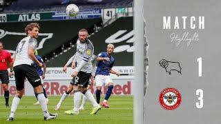 MATCH HIGHLIGHTS | Derby County 1 Brentford 3 | Sky Bet Championship