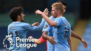 Kevin De Bruyne doubles Manchester City lead over Norwich City | Premier League | NBC Sports