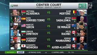Tennis Channel Live: Friday's Matches from Bett1Hulks Championship, European Open, and Ostrava Open