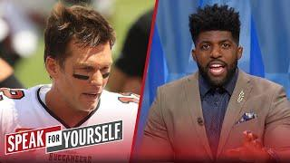 Tom Brady's performance with Buccaneers has been disappointing — Acho | NFL | SPEAK FOR YOURSELF