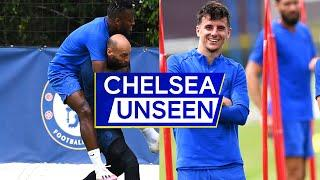 Mason Mount & Ross Barkley Shine In Shooting Practice | Chelsea Unseen