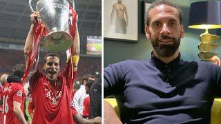 Rio Ferdinand watches back Manchester Utd's Champions League win in 2008 and answers fan questions