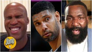 Richard Jefferson's 'lukewarm' tribute to Tim Duncan gets Kendrick Perkins fired up | The Jump