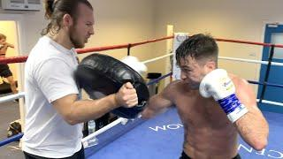 UNDISPUTED TIME! - JOSH TAYLOR OBLITERATES THE PADS WITH BEN DAVISON IN PREPARATION FOR JOSE RAMIREZ