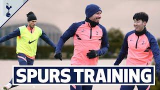 SMALL-SIDED GAMES & SNOWBALL FIGHTS! INSIDE SPURS TRAINING!