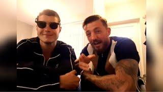 WHAT HAPPENS IN VEGAS! JOE LAWS & JORDAN REYNOLDS TALK SPARRING IN THE MAYWEATHER GYM... HUNGOVER!