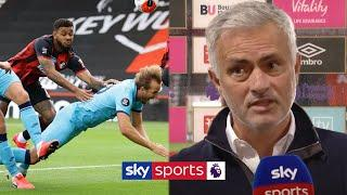 Jose Mourinho was NOT happy with VAR officials after Tottenham had penalty denied