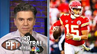 Why Patrick Mahomes, Kansas City Chiefs not rushing with extension | Pro Football Talk | NBC Sports