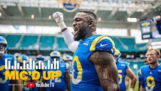 """""""Hey 99, I Could've Sworn That Was Me"""" Michael Brockers Mic'd Up vs Dolphins 