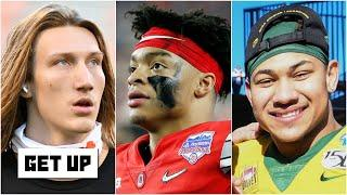 Trevor Lawrence, Justin Fields & Trey Lance: Outlook of the top 2021 NFL Draft QB prospects | Get Up