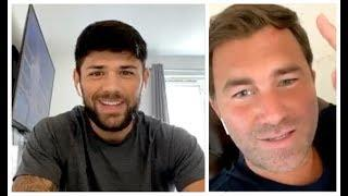 WOW! - 'I BELIEVE YOU BEAT JOJO DIAZ NOW' - EDDIE HEARN OPENLY TELLS JOE CORDINA ON INSTAGRAM LIVE