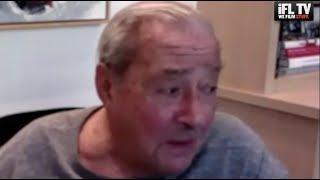 'SHUT THE H*** UP!' - BOB ARUM GOES ABSOLUTELY MENTAL AS LOUD MUSIC ERUPTS MID-INTERVIEW ON IFL ZOOM