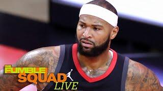 DeMarcus Cousins Calls BS On Rumor That He Was Unhappy Being Rockets Backup Center