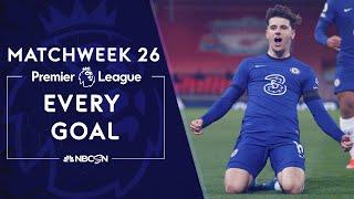 Every Premier League goal from Matchweek 26 (2020-2021) | NBC Sports