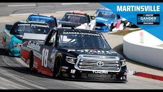 Full Race Replay: NASCAR Gander Outdoors Truck Series from Martinsville Speedway