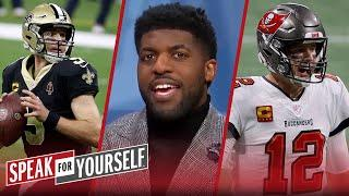 Saints have answers for every Bucs play; Acho has no confidence in Brady | NFL | SPEAK FOR YOURSELF