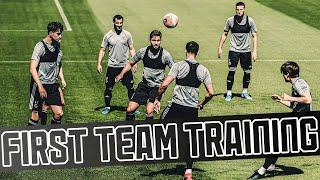 UNBELIEVABLE Joao Moutinho touch, Saiss off the line! | Wolves return to contact training