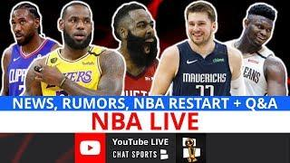 NBA Now - Live Rumors, News & Q&A with Jimmy Crowther (July 31)
