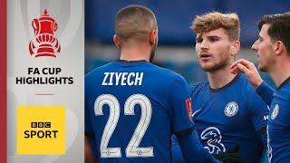 Werner and Havertz on target in comfortable Chelsea win | FA Cup third round