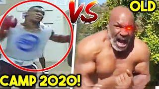 MIKE TYSON: OLD vs YOUNG- AGGRESIVE SHADOWBOXING SIDE BY SIDE COMPARISON- MEGA BOXING COMEBACK 2020!