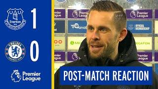 EVERTON 1-0 CHELSEA | GYLFI SIGURDSSON'S REACTION