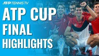 Djokovic, Serbia Defeat Spain To Win First ATP Cup Title!   ATP Cup 2020 Final Highlights
