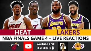 Lakers vs. Heat NBA Finals Game 4 Live Streaming Watch Party & Play-By-Play Reaction