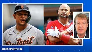 Former MLB GM on Miguel Cabrera's milestone and Albert Pujols potential retirement   CBS Sports HQ